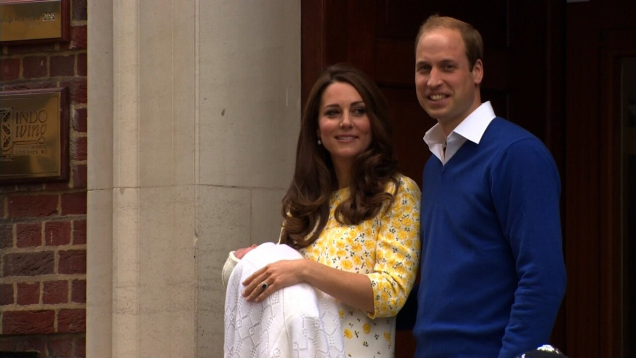 Royal baby: Catherine gives birth to a girl