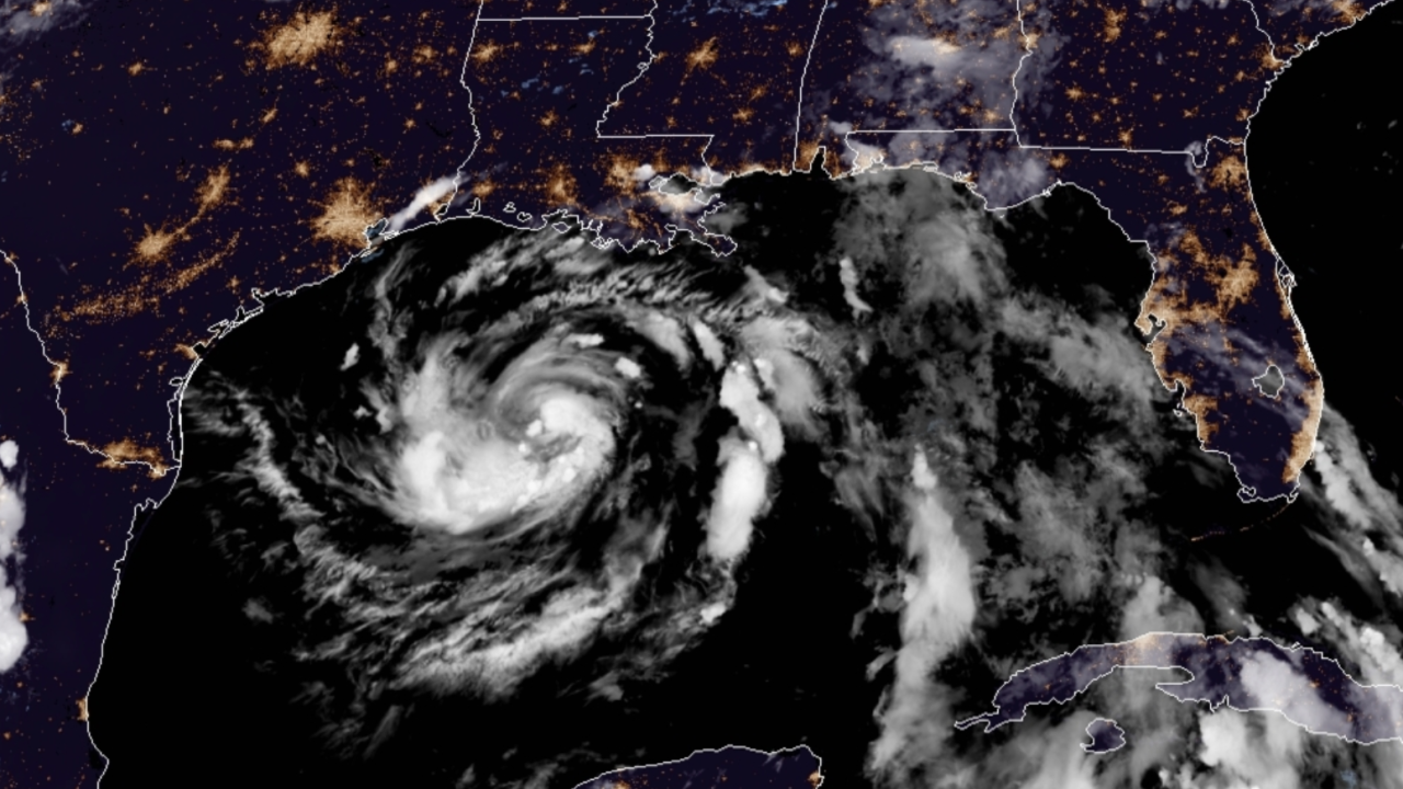 Tropical Storm Hanna forms in Gulf of Mexico, Texas in the path