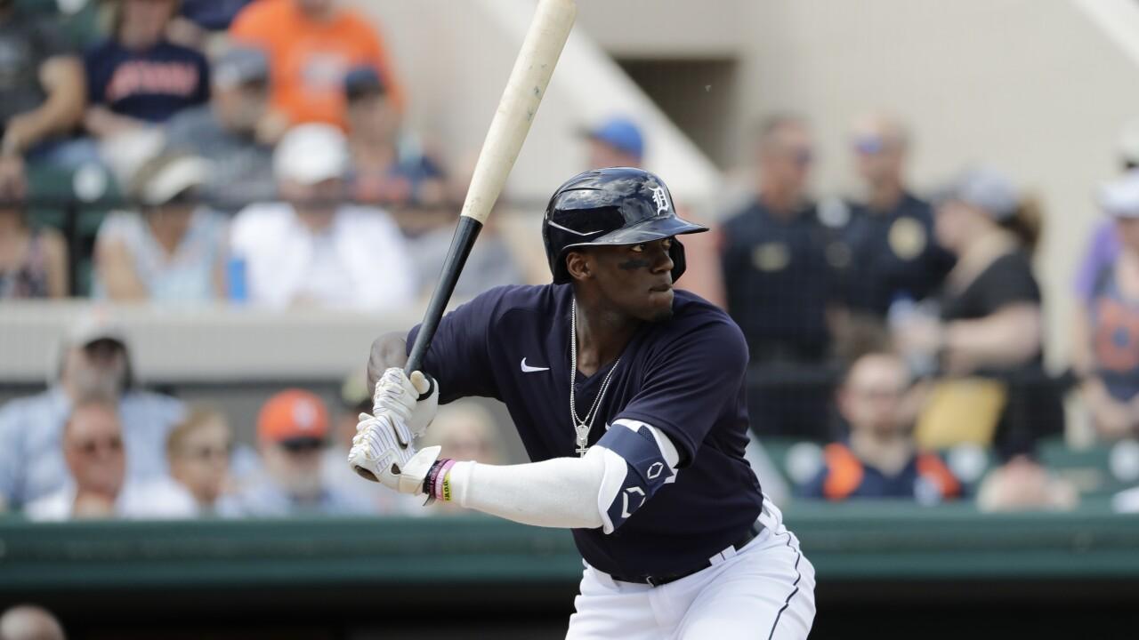 Cameron Maybin Astros Tigers Baseball