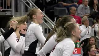 UNO Volleyball falls to Denver 3-2