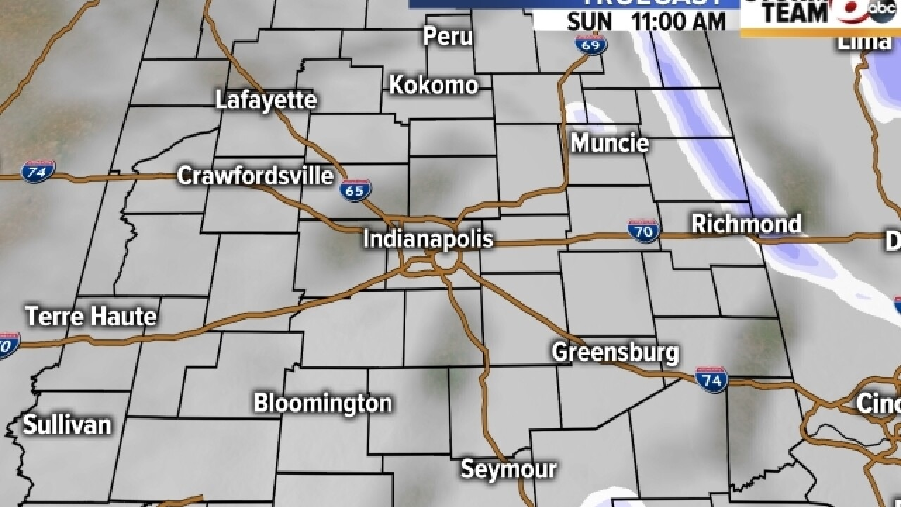 TIMELINE: When you can expect to see snow