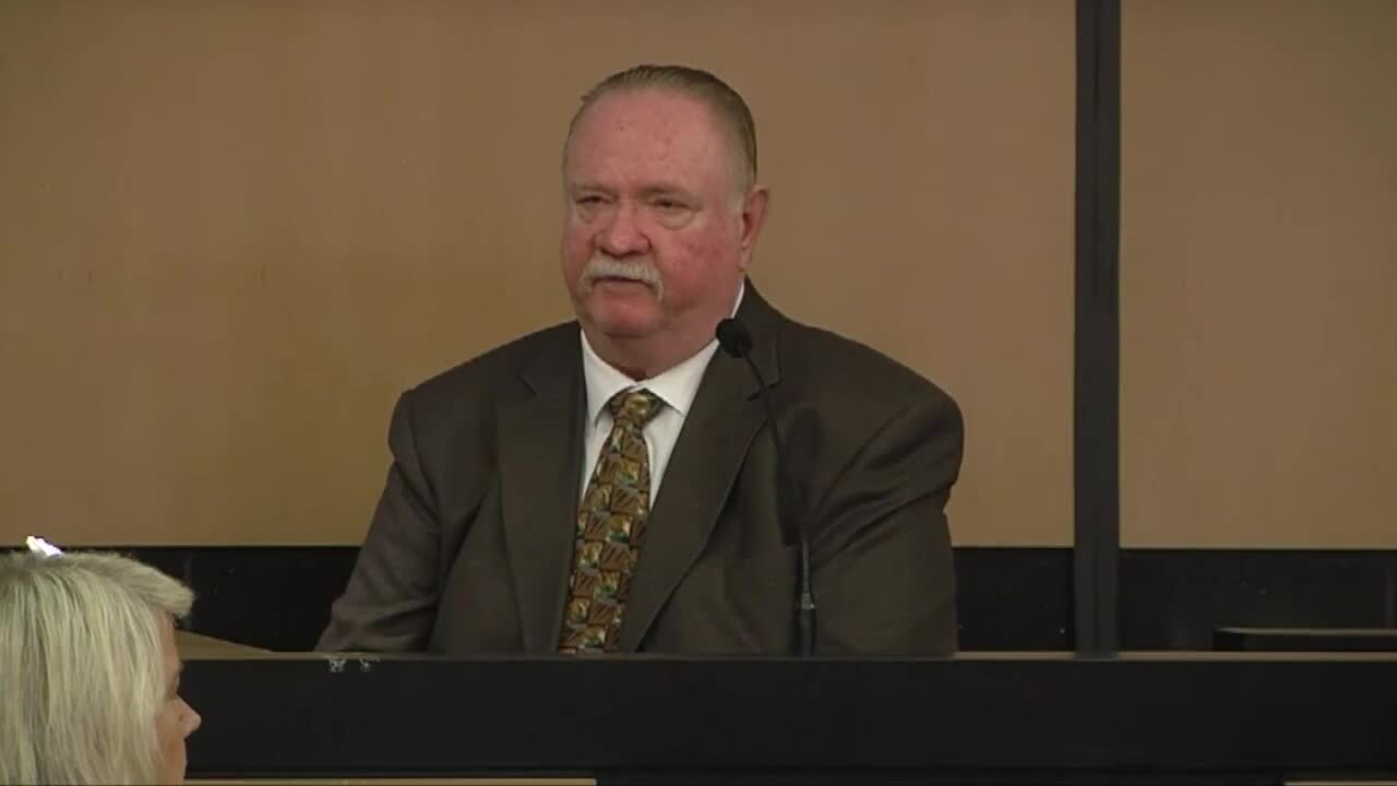 Carlton Nebergall testifies in retrial, March 10, 2020