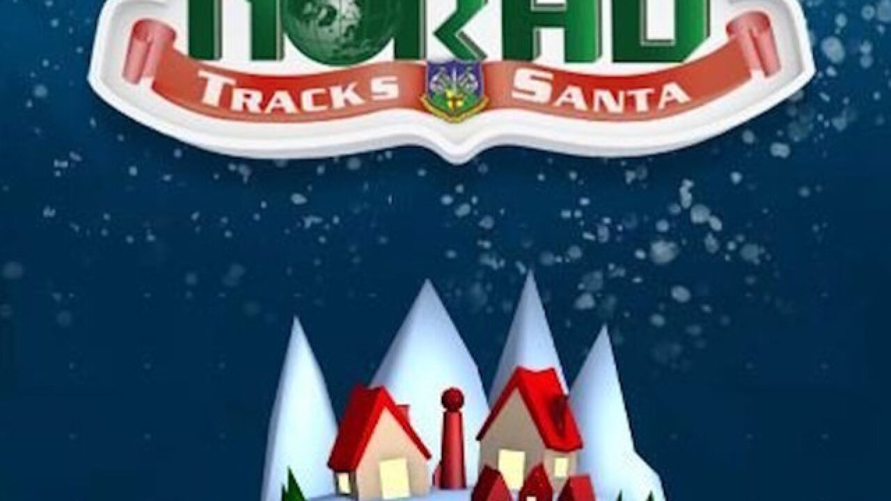 NORAD tracker: Follow Santa's whereabouts on Christmas Eve