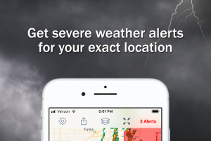 Storm Shield: Get severe weather alerts for your iOS and