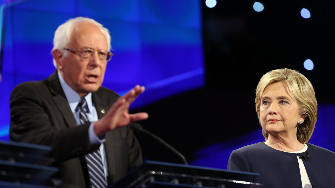 Democratic debate: Clinton, Sanders spar over ISIS, taxes and Wall Street