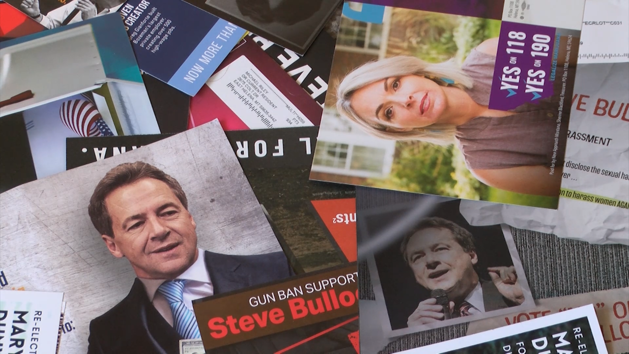 Election mailers in Montana