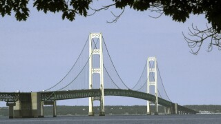Mackinac Bridge file photo