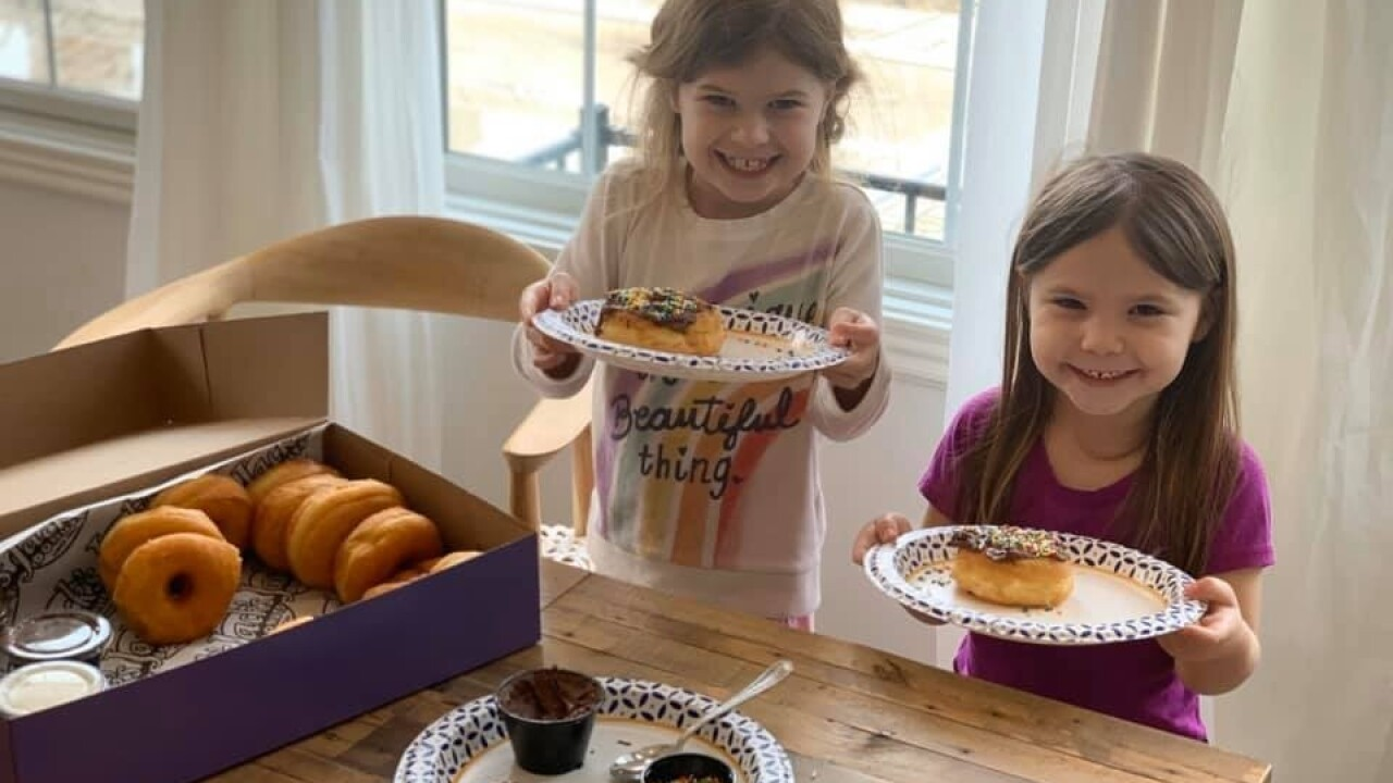 We Re Open Jack S Donuts Sells Take And Bake Donut Kits For All Ages Fun Indiana • utah • california. donuts sells take and bake donut kits