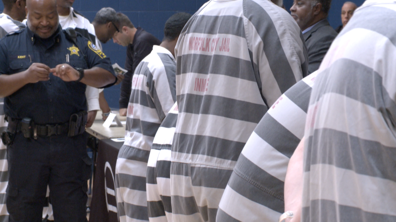 Norfolk inmates participate in resource fair to help prepare for a better life once released