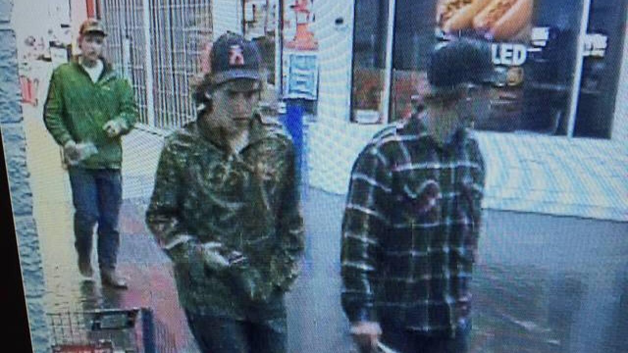 Meridian PD seeking theft suspects
