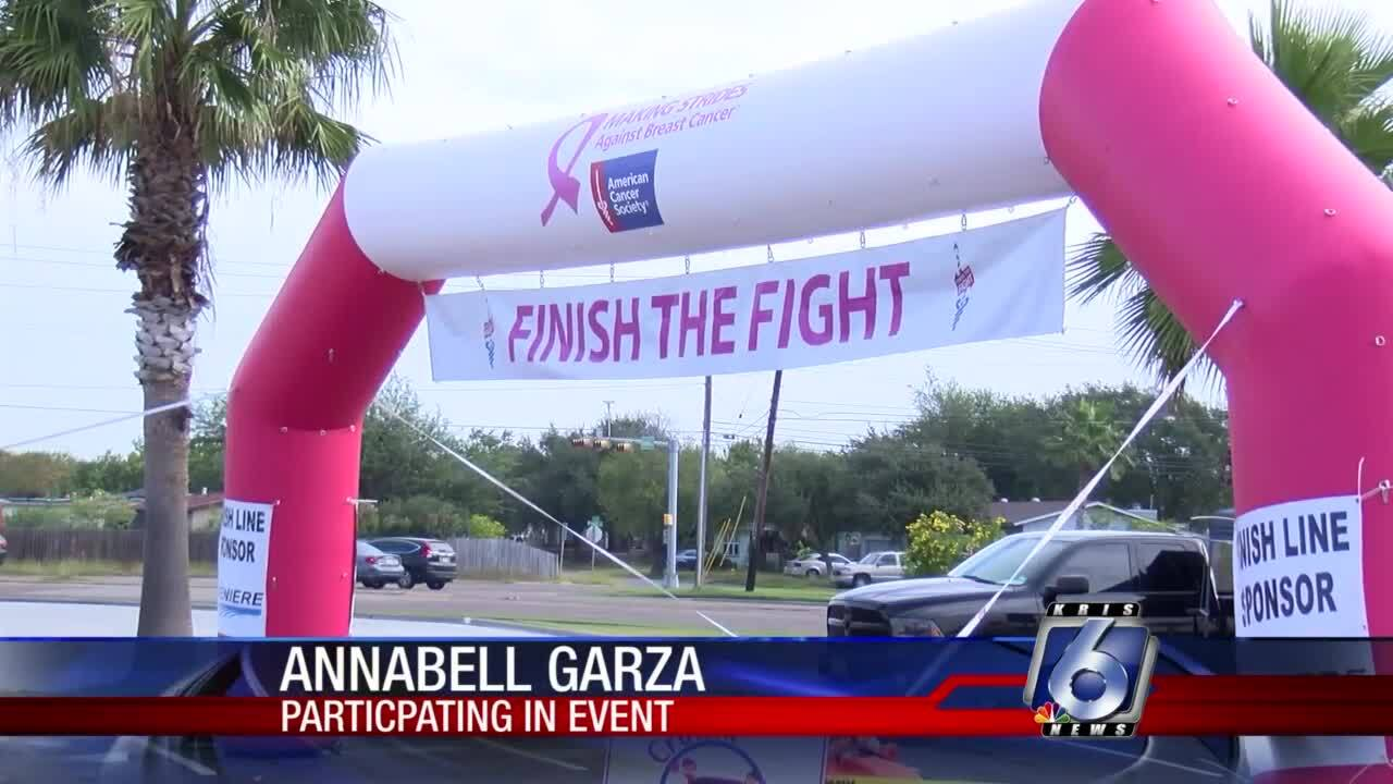 Making Strides Against Breast Cancer event