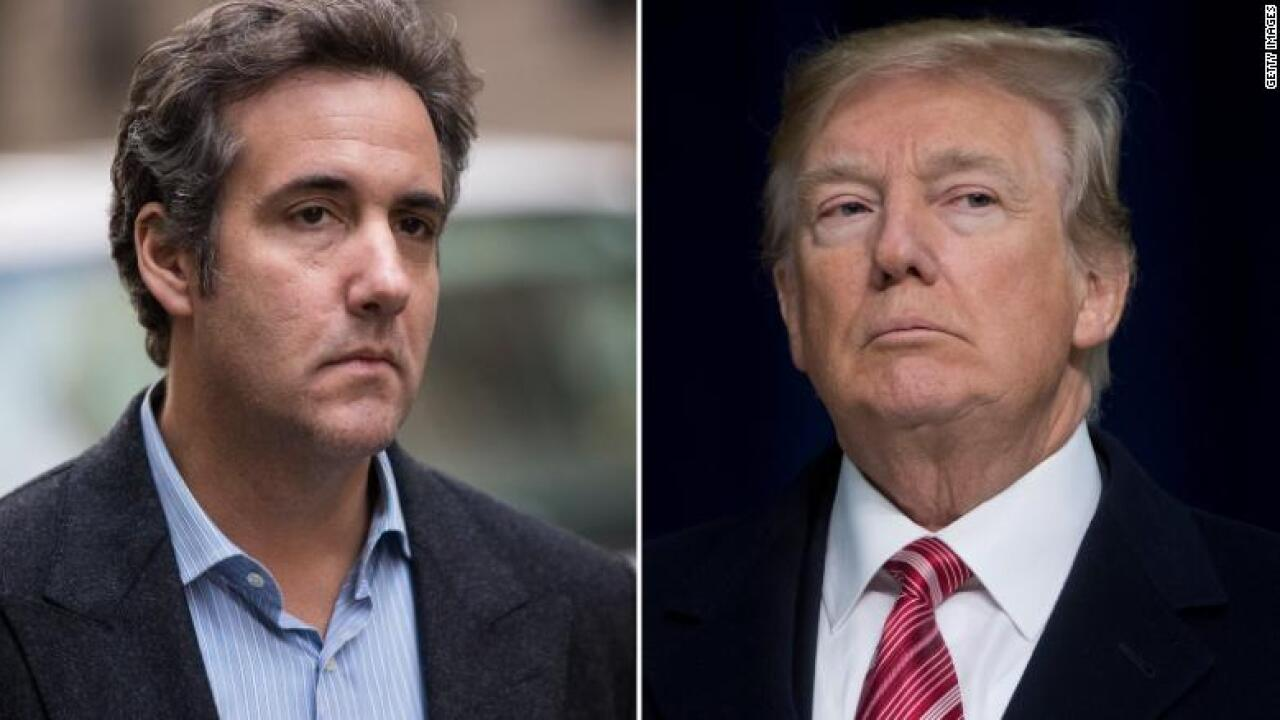 Cohen: Trump knew Stone reached out to WikiLeaks