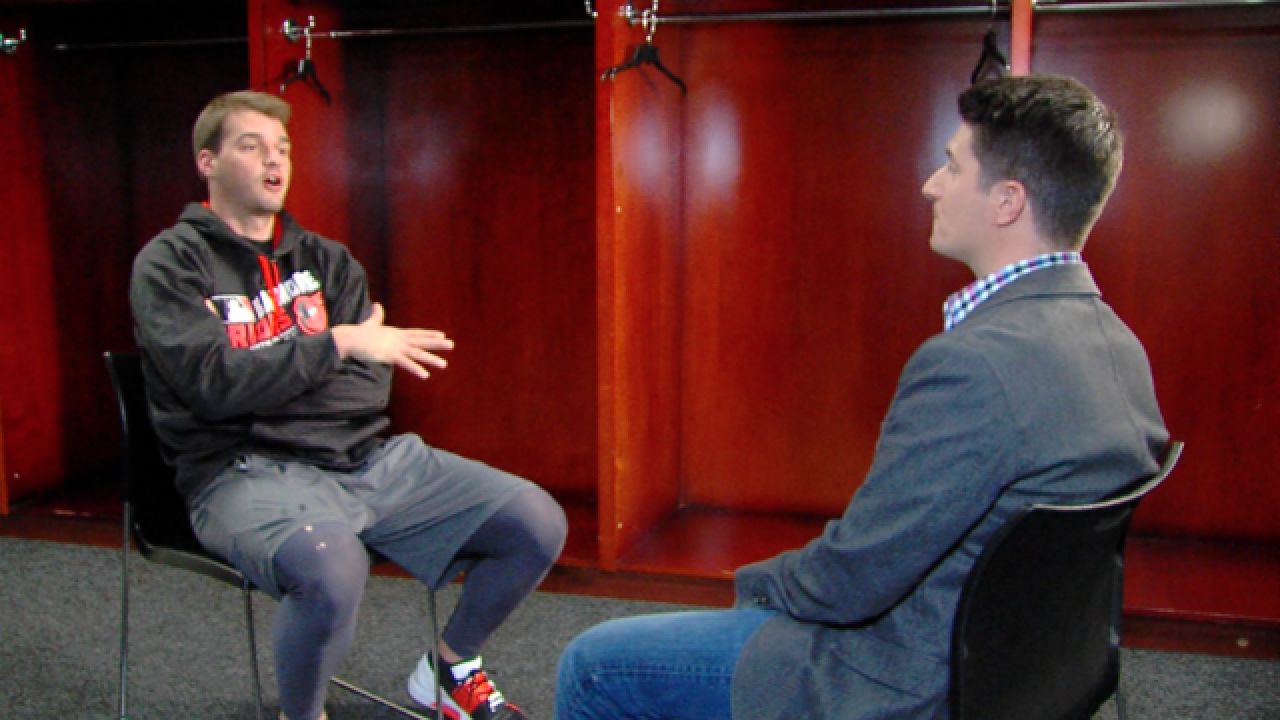1-on-1 with Trey Mancini