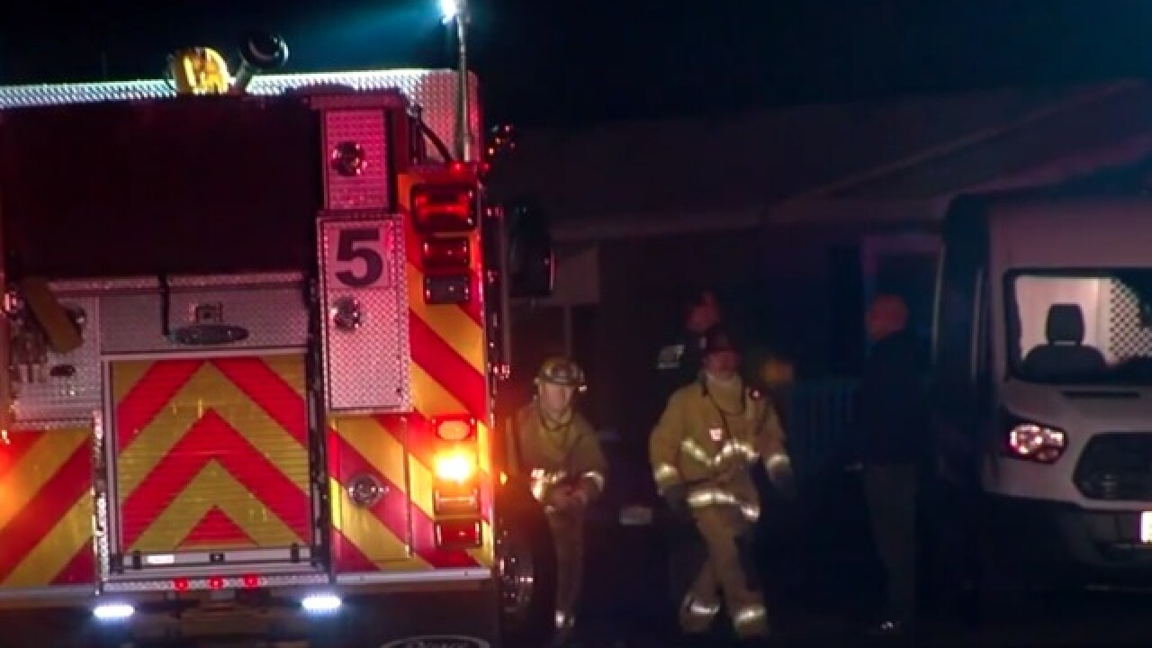 Elderly man dies in Santee mobile home fire