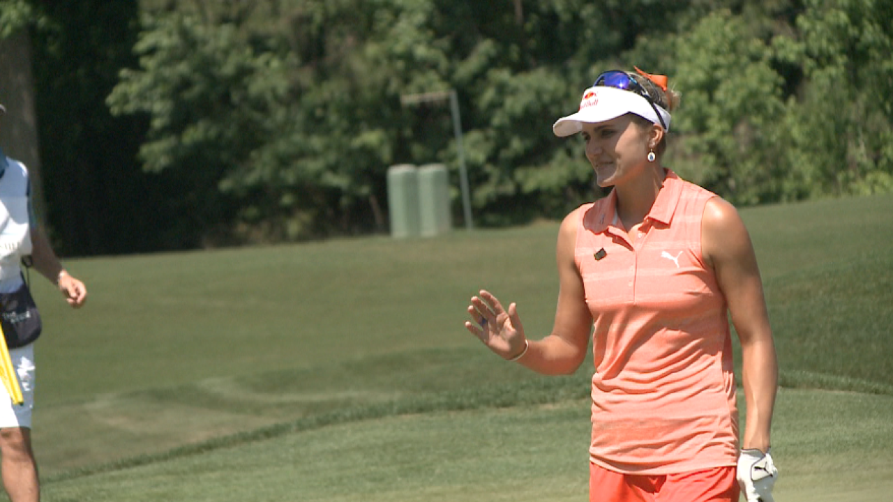 Lexi Thompson increases lead after 2nd round of the KingsmillChampionship