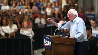 Bernie Sanders Holds Town Hall On Climate Change In Chico, CA