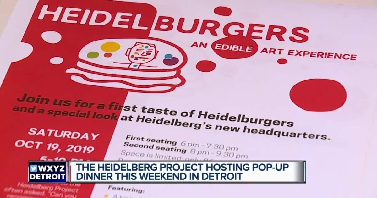 Detroit's Heidelberg art installation expands to new restaurant serving 'Heidelbergers'