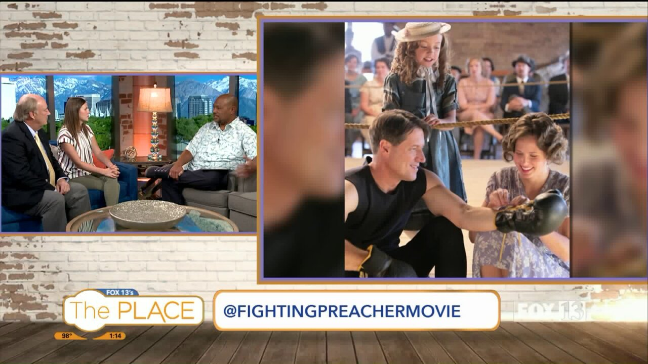 'The Fighting Preacher' will be in theaters statewide on Pioneer Day