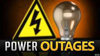 AEP Customers without power