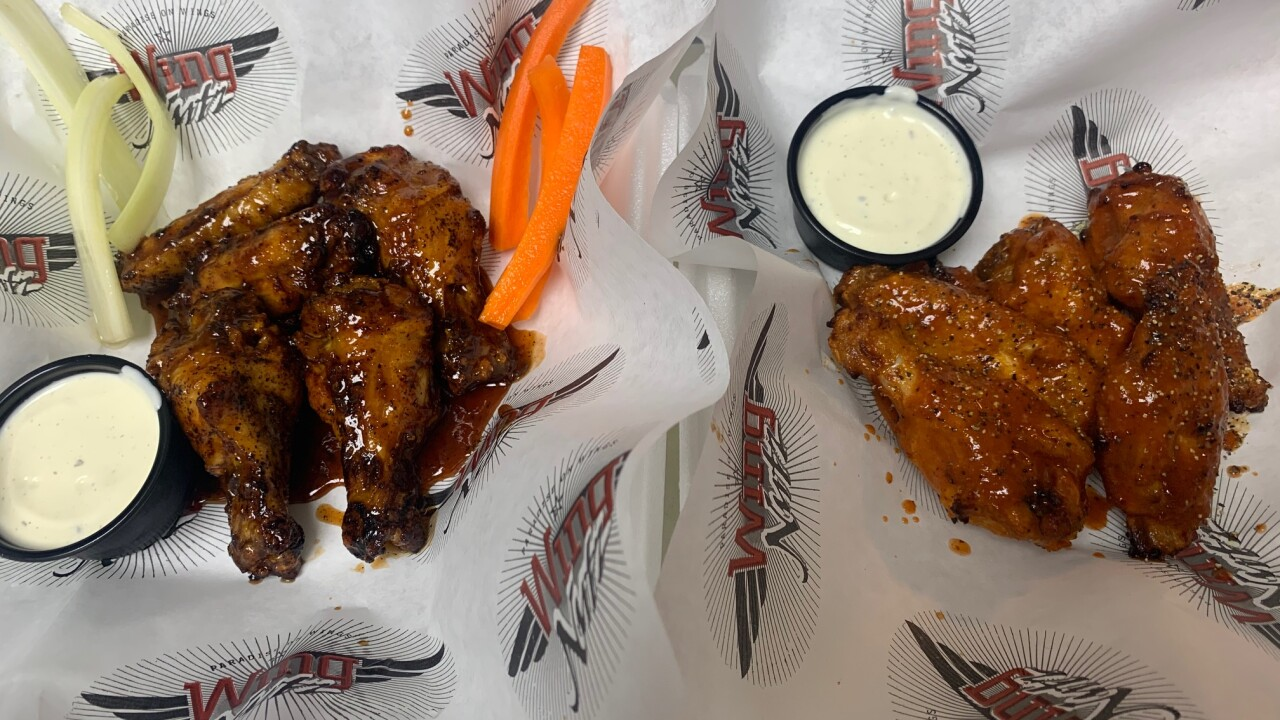 Wing Nutz serving signature baked wings and alcohol in northern Las Vegas Valley