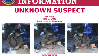 FBI seeks help to identify East Helena casino robbery suspect