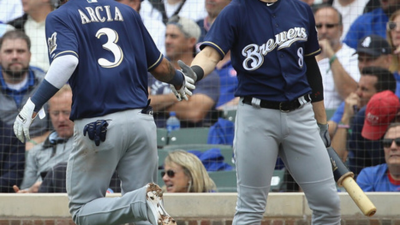 Brewers win NL Central crown with 3-1 win