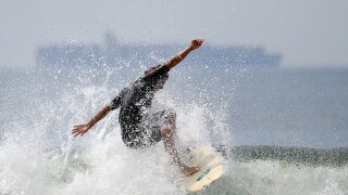 Top surfing sport in San Diego County