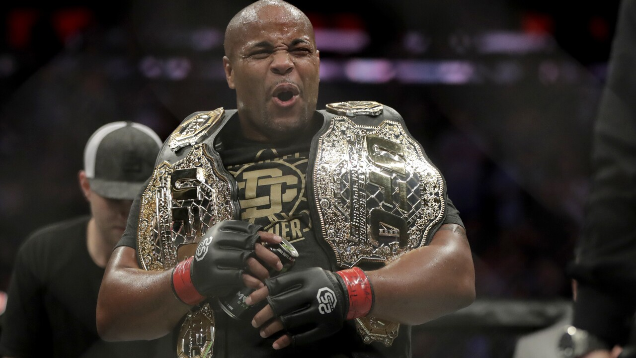 UFC 230 Mixed Martial Arts Daniel Cormier