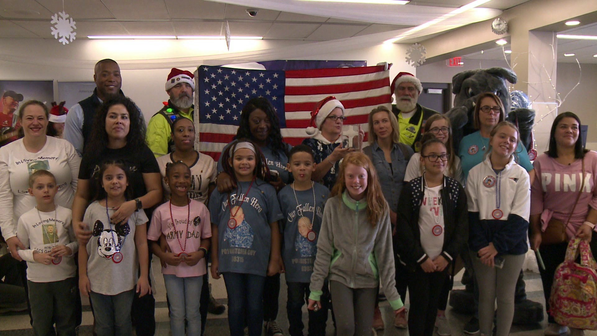 Photos: Volunteers help local Gold Star families board 'Snowball Express' at Norfolk International Airport