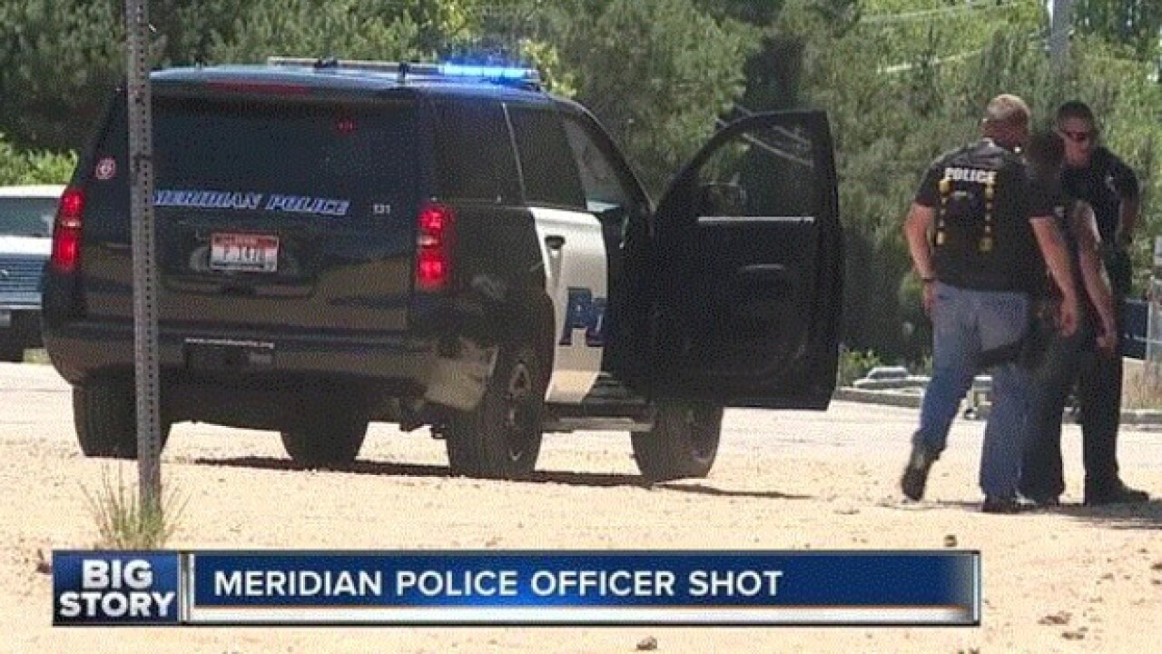 Meridian Police release details in Sunday's officer-involved shooting