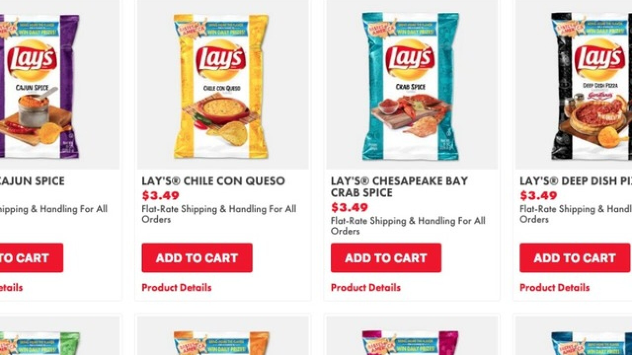 New Lay's chip flavors: 8 new regionally-inspired chip flavors