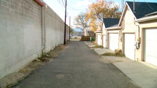 Baker neighborhood alley