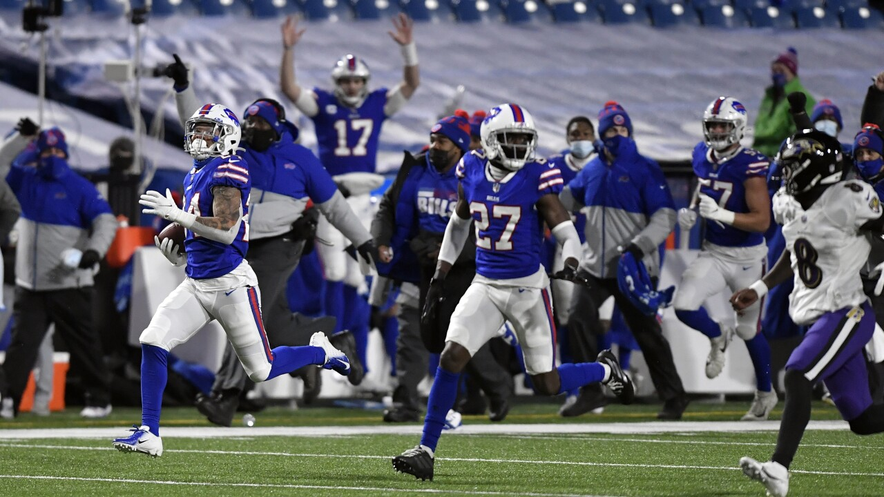 BILLS GAME DAY: Buffalo takes on the Ravens in the AFC Divisional Round tonight (preview, media & info)