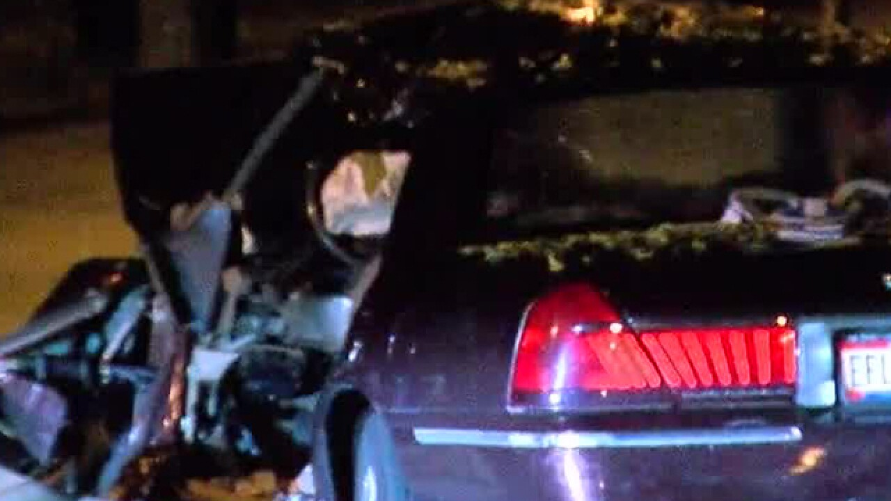 PD: Man dies in Mount Washington crash
