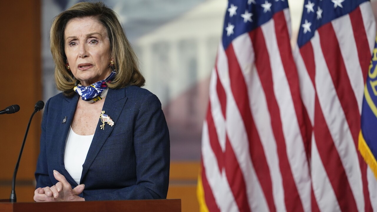 Pelosi still 'hopeful' for more COVID-19 stimulus, White House blames her for airline layoffs