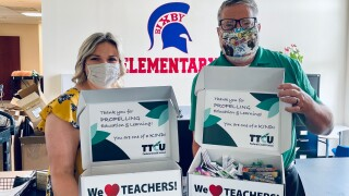 TTCU celebrates East Bixby elementary teachers