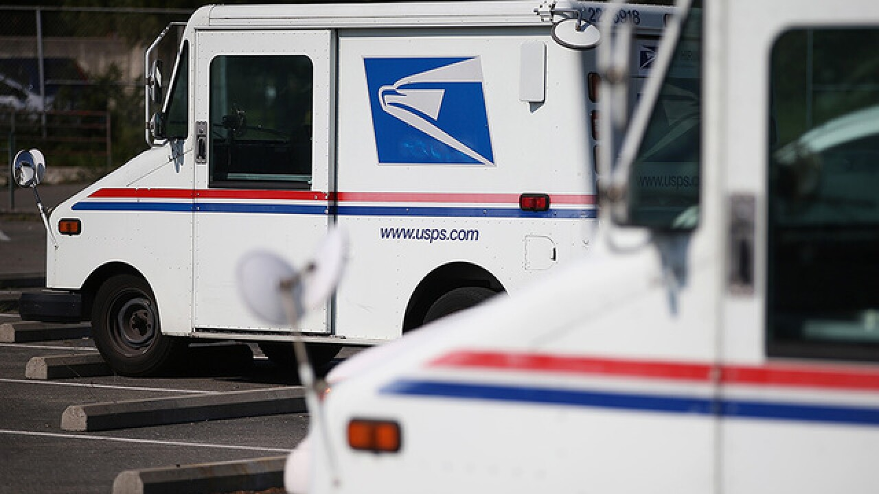 Postal Truck Catches Fire In Phoenix Destroying Some Mail