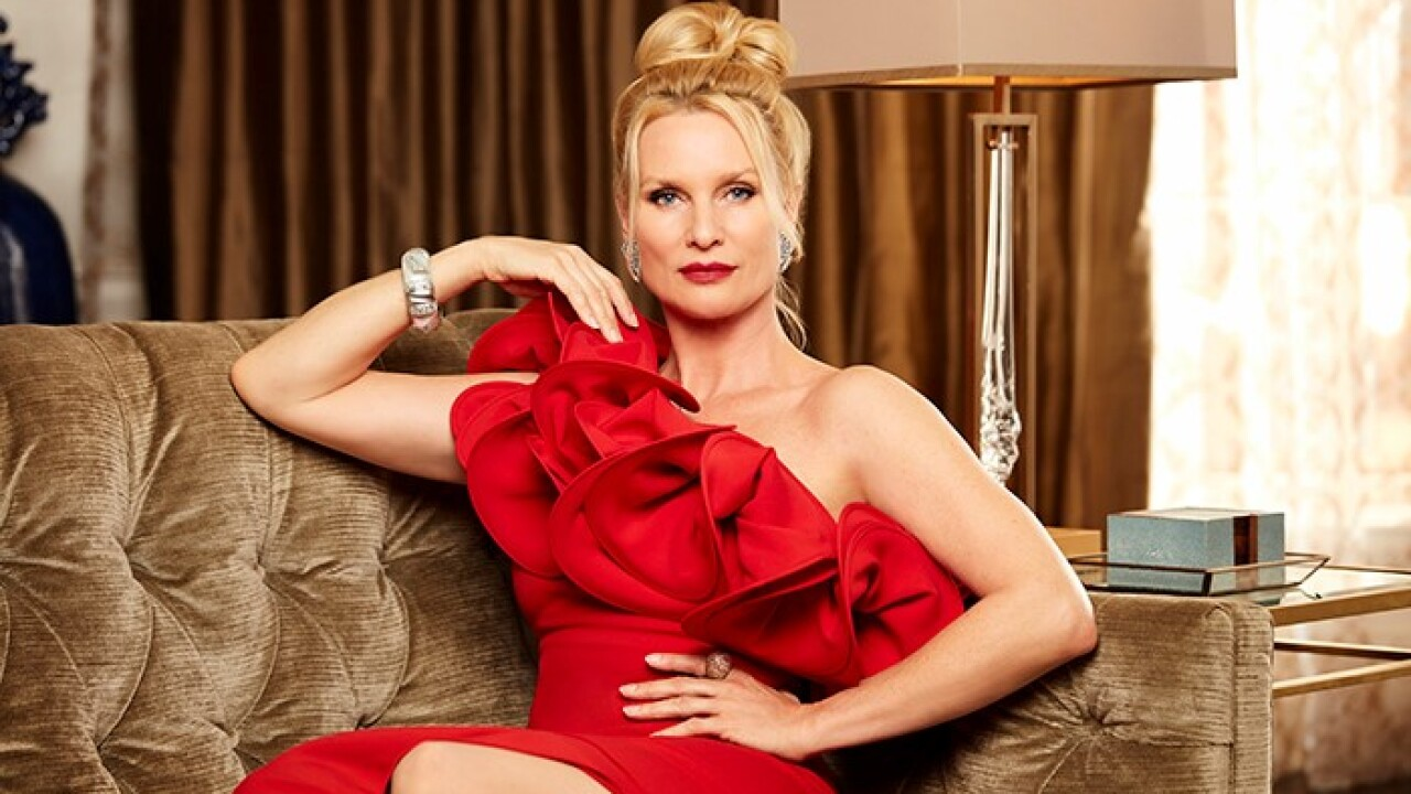 Nicollette Sheridan is Alexis Carrington on The CW's DYNASTY