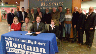 Montana leaders celebrate new heritage center