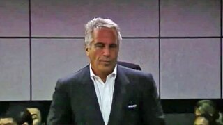 Jeffrey Epstein during court appearance in Palm Beach County