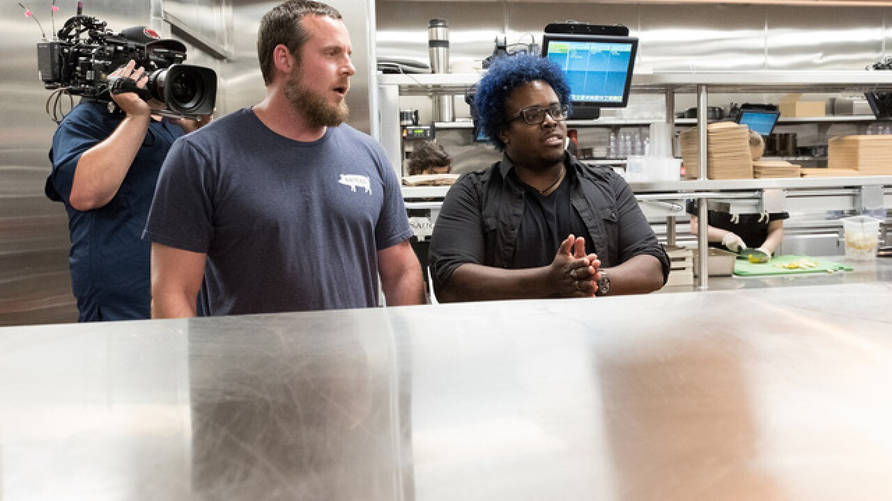 Local chef goes from biscuits to big time