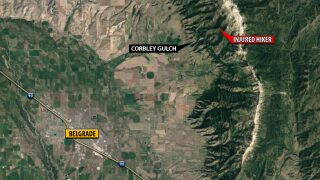 Injured hiker rescued in Bridger Mountains