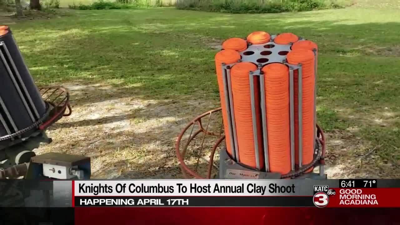 Clay shoot knights of columbus