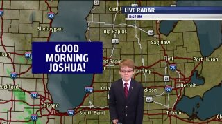 Morning Mix Weather Kid – Joshua Babcock
