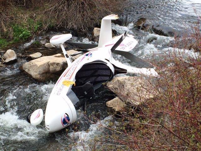 Photos: Two injured after gyrocopter crashes in Wasatch County