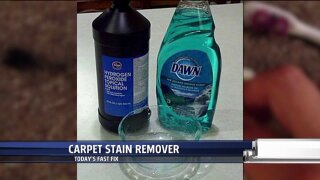 Get out stains with this homemade carpet cleaner