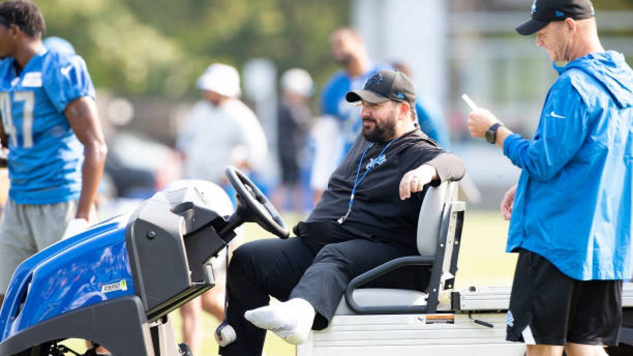 Lions Look To Get Leg Up With Matt Patricia Arriving At Camp