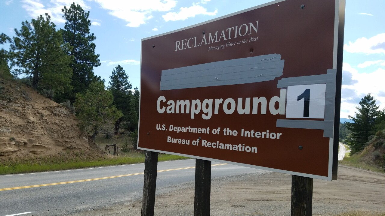 BOR CAMPGROUNDS RENAMED