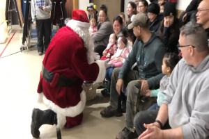 National Guard flies Santa to Alaskan village