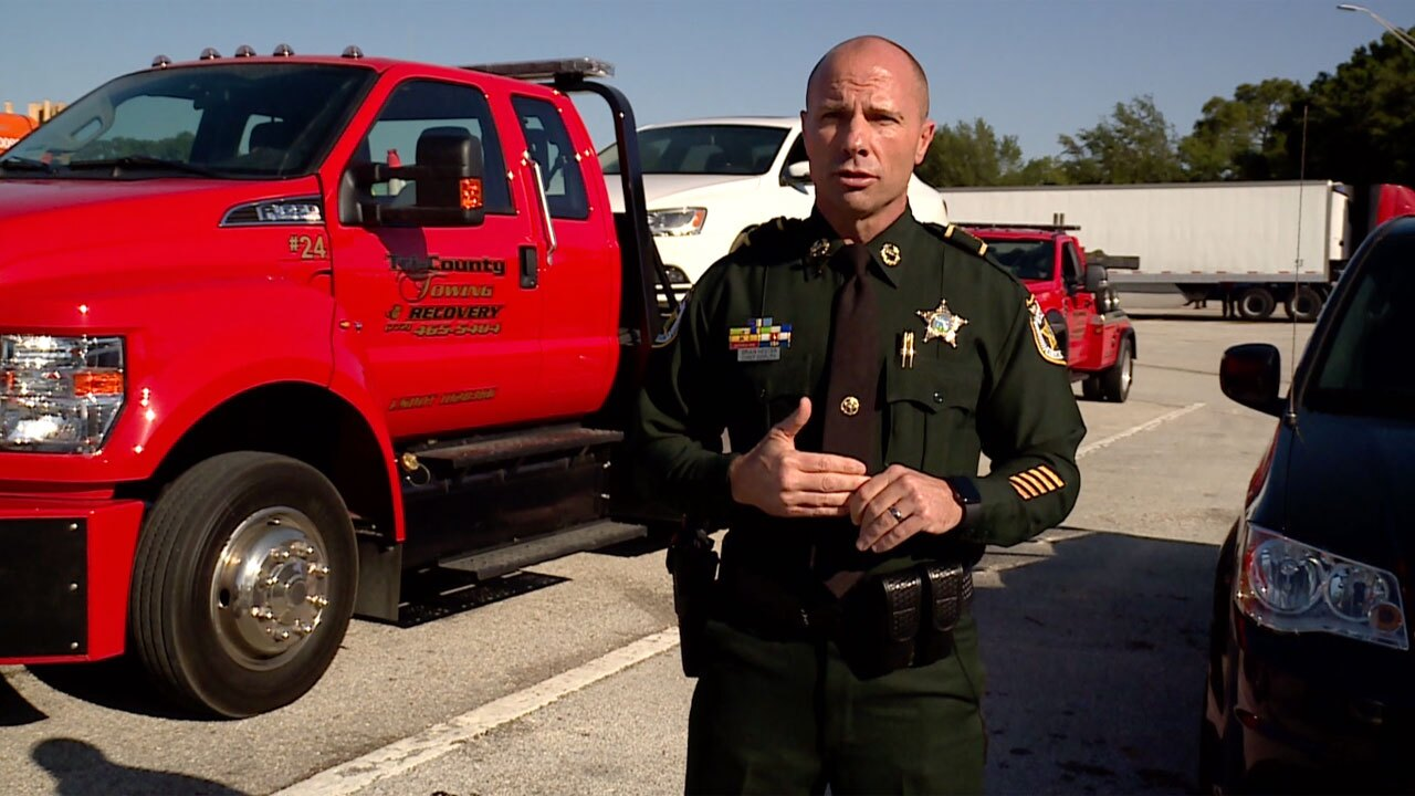 Chief Deputy Brian Hester with the St. Lucie County Sheriff Office